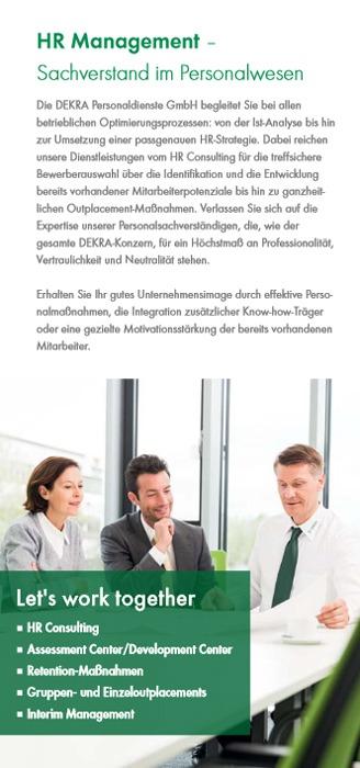 HR Consulting mit und bei Dekra-Arbeit.de